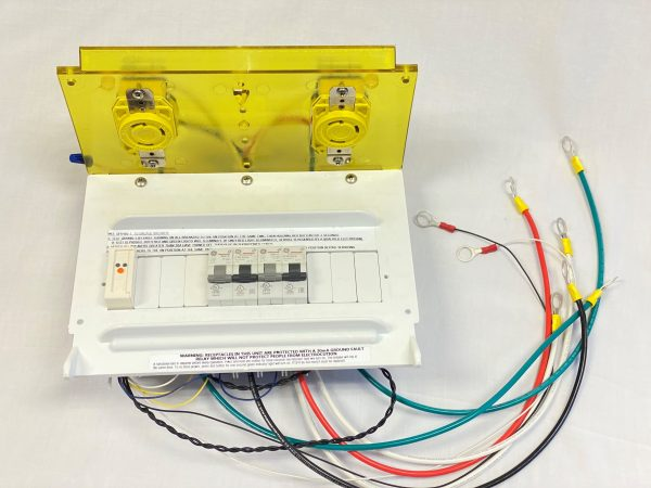 Harbor Light/Harbor Light SS Faceplate Assembly - 30-00-30 (Class A GFCI Circuit Breakers)