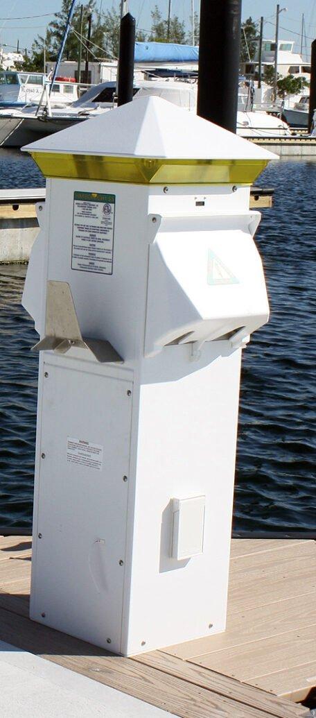 Harbor Light SS 30-20-50, 30-20-50, 2 Water, Amber Lens