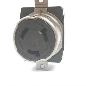 50A 125/250V 3-Pole, 4-Wire NEMA SS-2 Twist-Lock