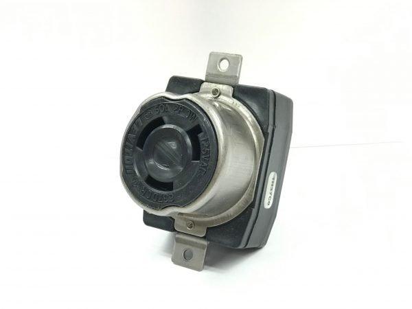 50A 125V 2-Pole, 3-Wire NEMA SS-1 Twist-Lock