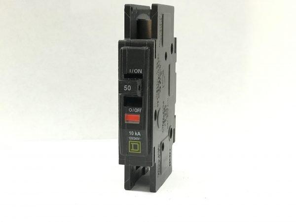 50A 125V 1-Pole Square D Circuit Breaker