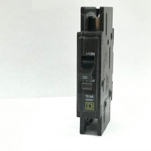 30A 125V 1-Pole Square D Circuit Breaker