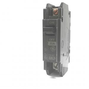 20A 125V 1-Pole GE Circuit Breaker