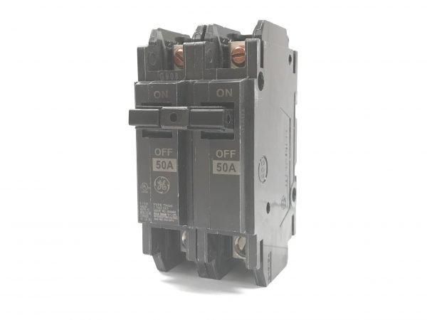 50A 125/250V 2Pole GE Circuit Breaker