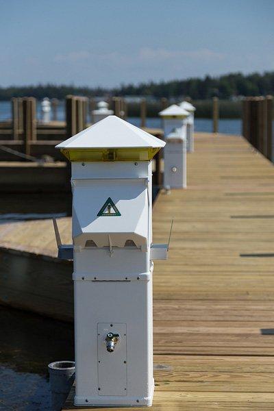 Harbor Light Lens - Blue