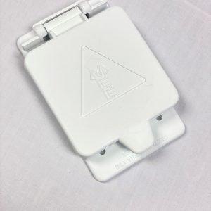 30A L-530R Twist Lock Receptacle Weatherproof Flip Cover Assembly